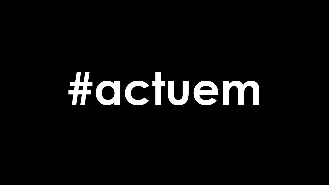 #actuem