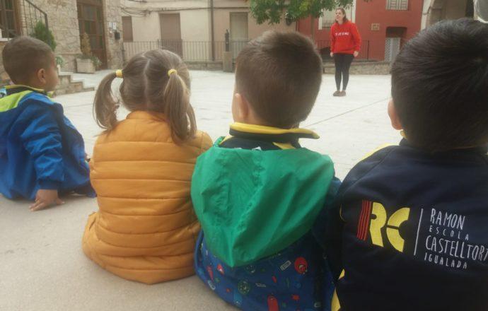 L'escola Ramon Castelltort també ens visita a La Casa
