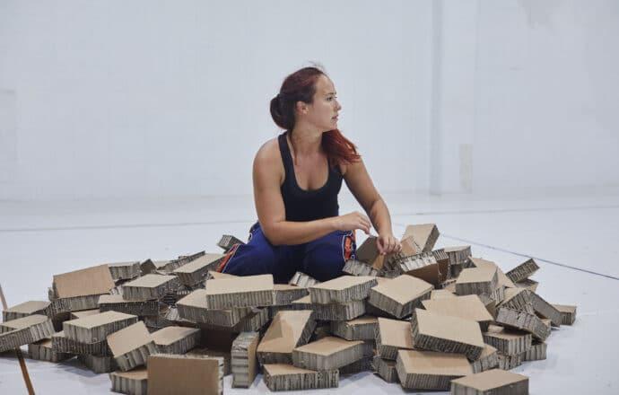 """Alma Steiner (Kernel Dance Theatre): """"El públic ens ha fet de mirall"""""""