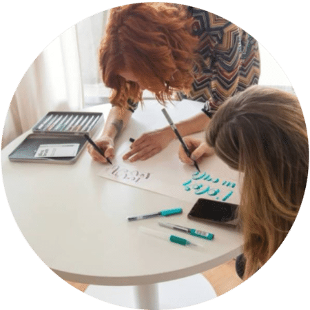 Taller de lettering amb Laia Voto